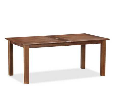 CHATHAM RECTANGULAR EXTENDING DINING TABLE - Pottery Barn