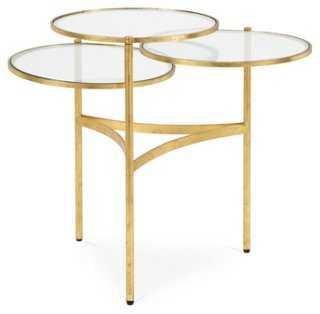 Florence Tri-Circle Coffee Table - One Kings Lane