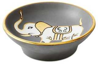"OKL Exclusive 5"" Bullet Bowl, Elephant - One Kings Lane"