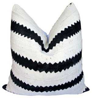 African Tribal Mud Cloth Pillow - One Kings Lane