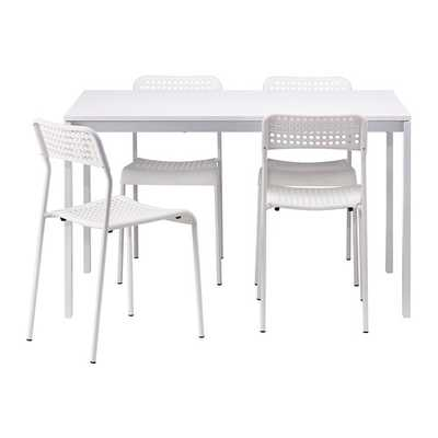 MELLTORP / ADDE Table and 4 chairs - Ikea