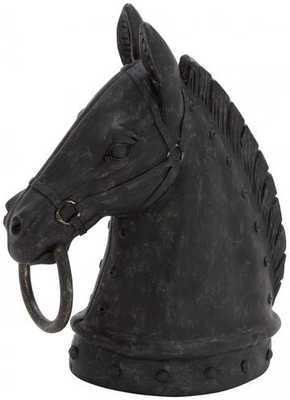 Horse Head Sculpture - Home Decorators