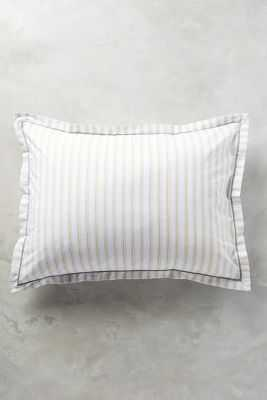 Salento Striped Shams-King - Anthropologie