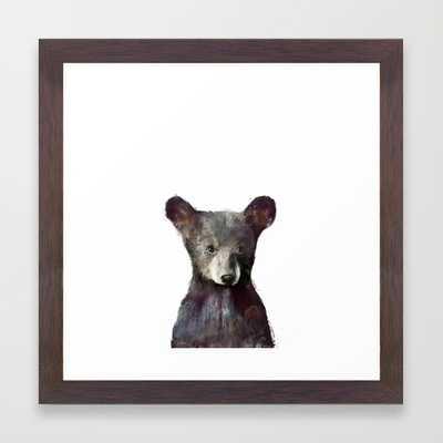 "Little Bear - 12"" X 12"" - Framed - Society6"