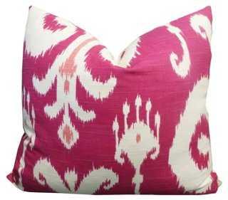 Palladium Cotton Pillow - One Kings Lane