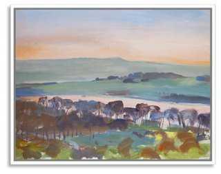 """David Pott, Sunset, Rivington - 40"""" x 32"""" - framed - One Kings Lane"""