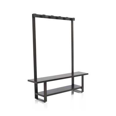 Welkom Hall Tree Bench with Coat Rack - Crate and Barrel