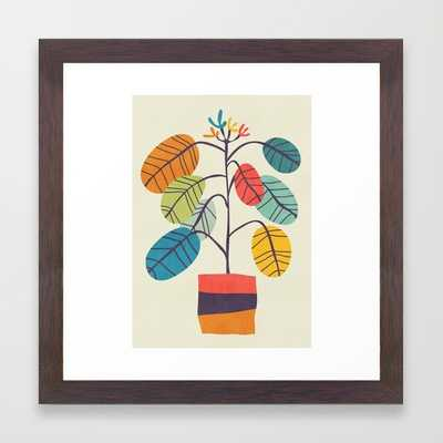 Potted plant 2 - Framed - Society6