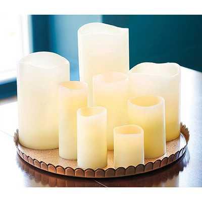 Remote Controlled Flameless Wax Candles- 3X4 - Ballard Designs