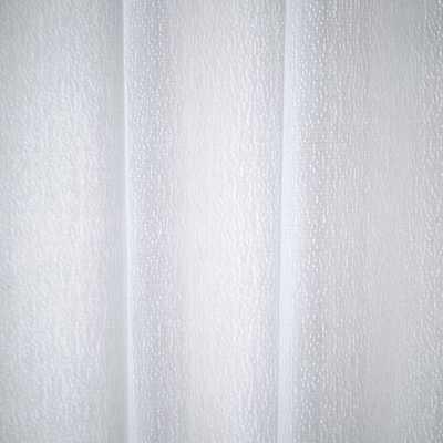 Brighton Matelasse Shower Curtain - Stone White - West Elm