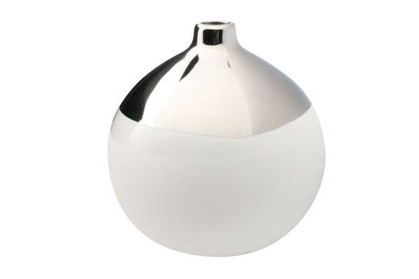 Dauville Single Stem Bud Vases - Platinum - canvashomestore.com