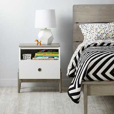 Wrightwood Nightstand - Domino