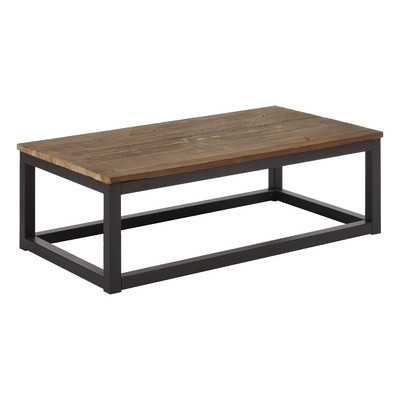 Civic Center Rectangular Coffee Table - Wayfair