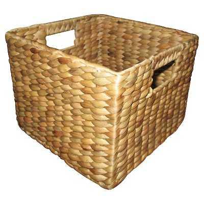 Threshold Wicker Basket Hyacinth (Medium) - Target