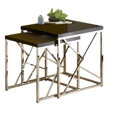 Dripping Springs 2 Piece Nesting Table Set - AllModern
