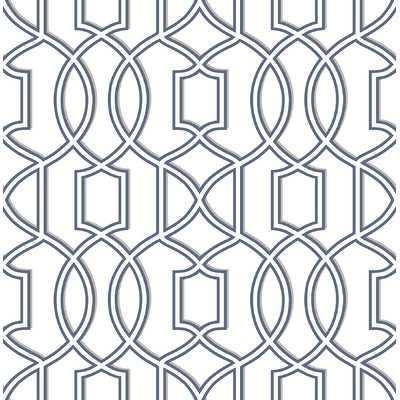 "Symetrie 33' x 20.5"" Quantum Trellis Wallpaper - Wayfair"