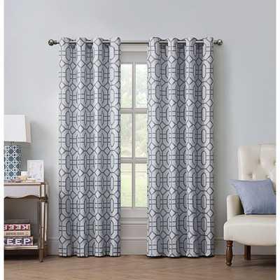 VCNY Jackson Grommet Curtain Panel - Overstock