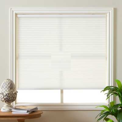 "Honeycomb Cell Light-filtering Cream Cordless Cellular Shades - 24"" x 72"" - Overstock"