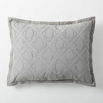Roar + Rabbit Graphic Texture Sham - West Elm