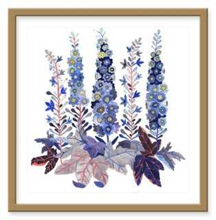 Michelle Morin, Delphinium - One Kings Lane