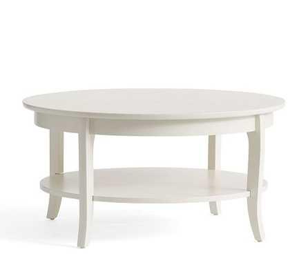 Chloe Round Coffee Table - Pottery Barn