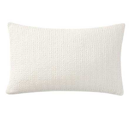 HONEYCOMB LUMBAR PILLOW COVER - Pottery Barn