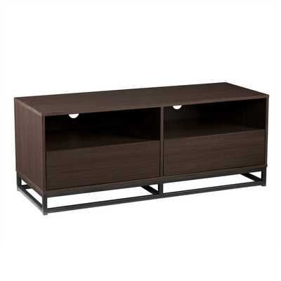 Holly & Martin Mirks Burnt Oak Media Stand - Overstock