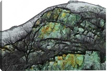 """Natural texture of the mountain - 48"""" x 32"""" - Unframed - Photos.com by Getty Images"""