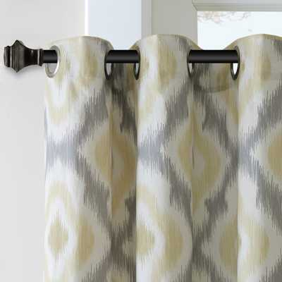 Ink+Ivy Ankara Cotton Printed Curtain Panel - Overstock