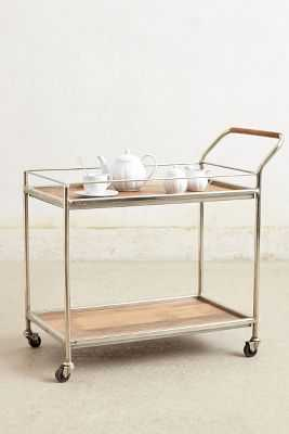 Wooden Bar Cart - Anthropologie