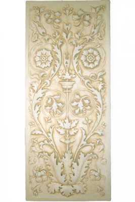 BELLA FLORITA WALL PLAQUE - Home Decorators