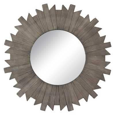 "Thresholdâ""¢ Starburst Reclaimed Mirror - Grey 28"" - Target"