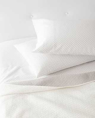 Bark Cut Circle Sheet Set - Domino