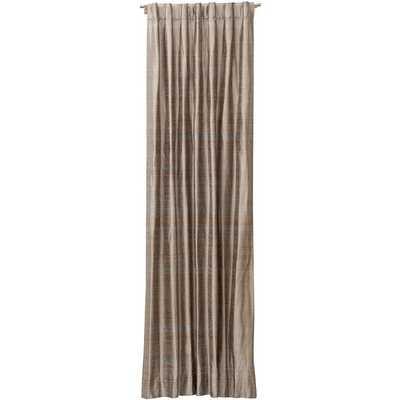 "Silk Texture Drapery Panel, Neptune-96"" - High Fashion Home"