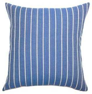 Tarvos Cotton Pillow - One Kings Lane