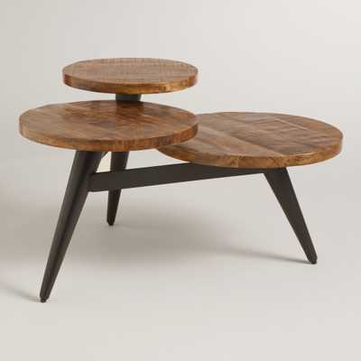 Wood and Metal Multi Level Coffee Table - World Market/Cost Plus