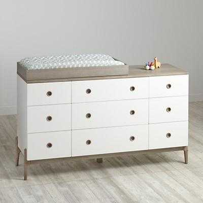 Wrightwood 9-Drawer Changing Table - Land of Nod