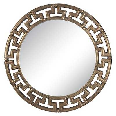 Lazy Susan 41 in. Gold Mirror - Target