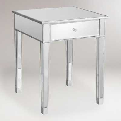 Mirrored Accent Table - World Market/Cost Plus