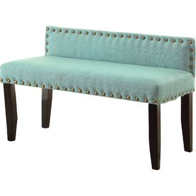Angeline Upholstered Bedroom Small Bench - Blue - Wayfair