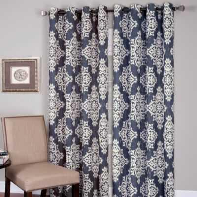 Medina Grommet Window Curtain Panel - Bed Bath & Beyond