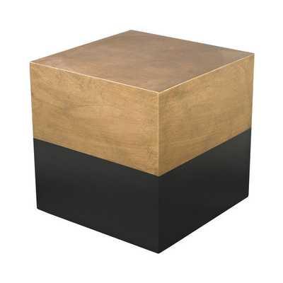 LS Dimond Home Draper Cube Table - Overstock