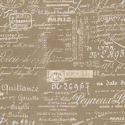 Document Natural Fabric By The Yard - Ballard Designs