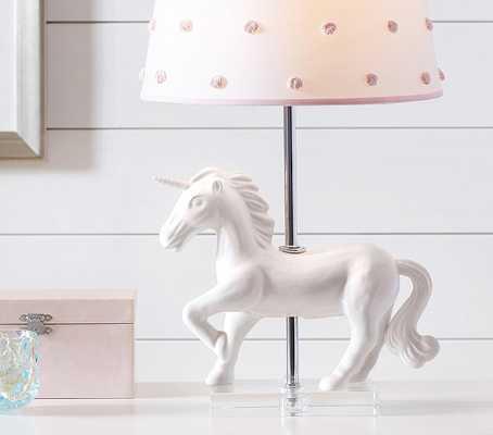 Unicorn Ceramic Base - Pottery Barn Kids