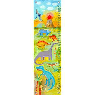 Dino Scene Growth Chart - Wayfair