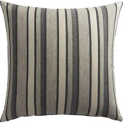 The Hill-Side workwear blanket stripe pillow - 20x20 - Down Insert - CB2