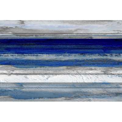 "Beach & Nautical ""Tarrafal"" Painting Print- 40"" H x 60"" W x 1.5"" D- Unframed - Wayfair"
