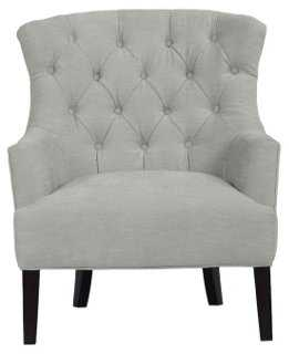 Morgan Tufted Accent Chair - One Kings Lane