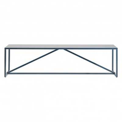Strut Coffee Table - Navy - Domino