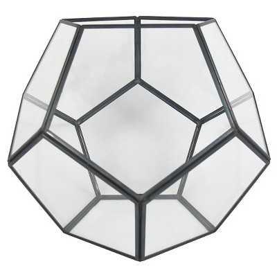 """Thresholdâ""""¢ Faceted Glass Vessel Large - Target"""